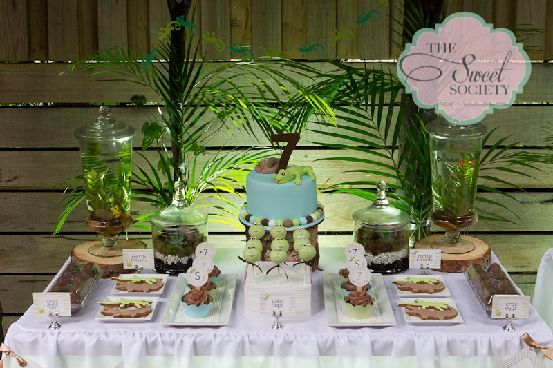 Reptile Rumpus Party featured on Amy Atlas Events