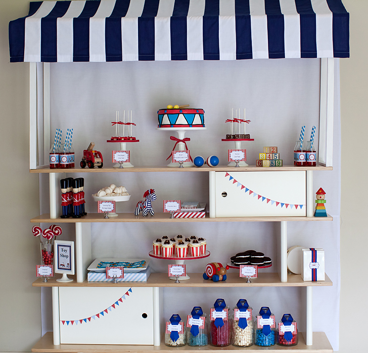 Toy Store Dessert Display