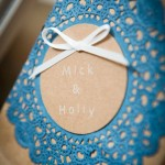 Blue Doily Bags Sweet Society