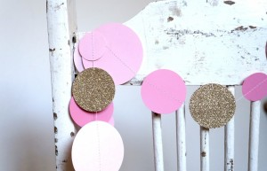 Bubble Pink & Bling Garland web