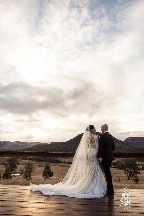 yolanda and andrew wedding wolgan valley resort styling by penny lane studio