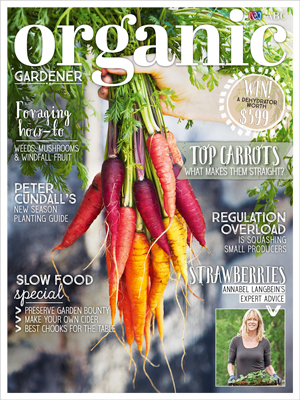 organic gardener march april cover stylist penny lane studio